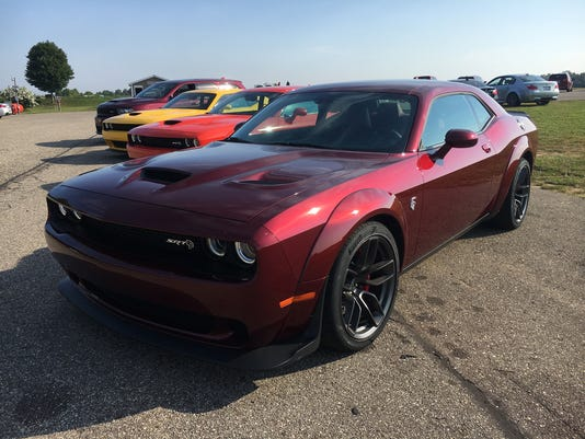 Taming a Hellcat at track safety school