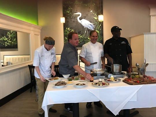 Sous Chef  Wiz Watson, Chef Frank Harris IV, Chef John