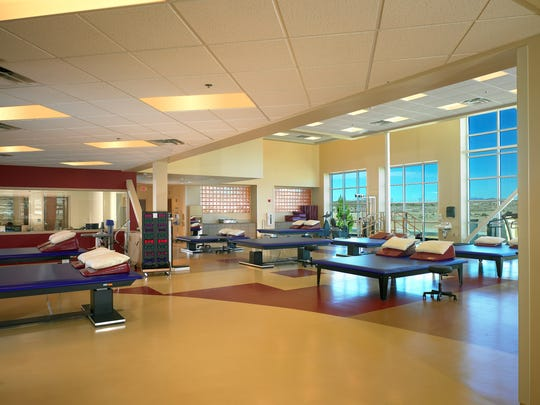 Patients have access to a state-of-the-art therapy gym at RHSNM.