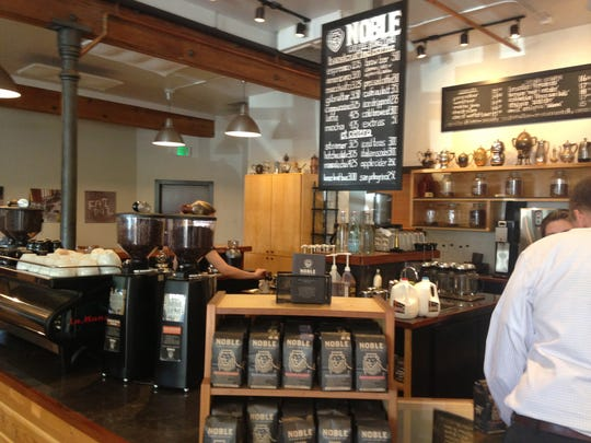 It's hard to find a better cup of coffee than at Nobel