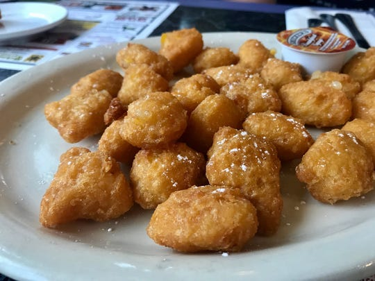 Corn nuggets from 41 Diner in San Carlos Park.