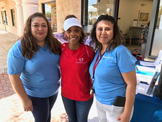 Organizers of the 2017 Grandparents Appreciation Day Norma Hernandez, left, Kimberly York and Amy Ramirez.