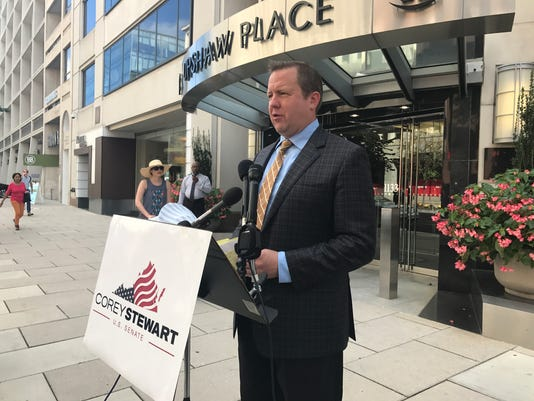 Corey Stewart call for lifting anti-trust protection from NFL