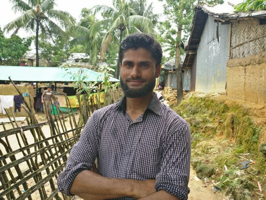 Abdullah Nayan, 31, is a resident of Cox's Bazar and