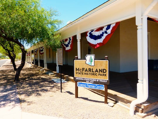 McFarland Courthouse offers exhibits, a gift shop and serves as visitor center for Florence's historic downtown.