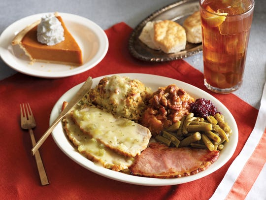 Homestyle Turkey n' Dressing Meal at Cracker Barrel.