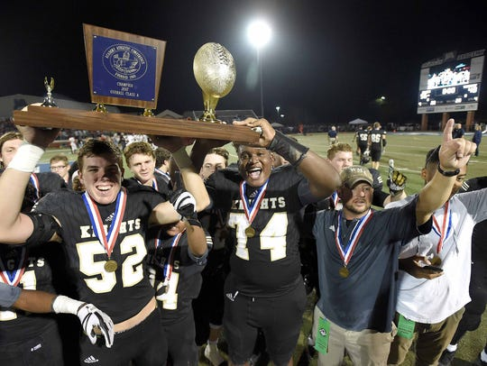 The West Memphis Black Knights and head coach Darrow