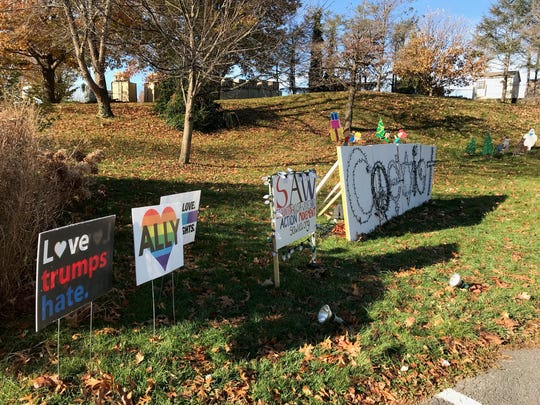 "SAW Action, an advocacy group, put up a display in Gypsy Hill Park for the ""Celebration of Lights"" only to have it unplugged the day the event started."