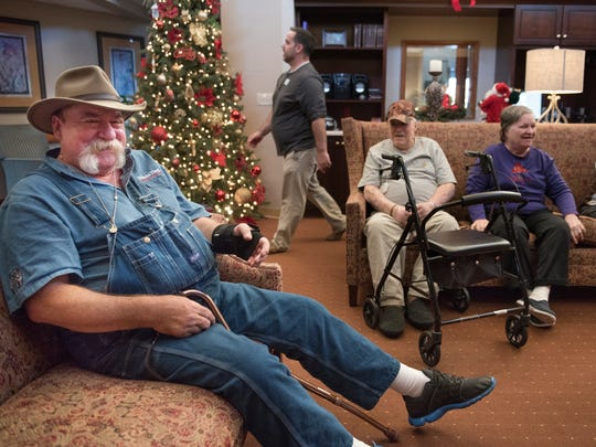 Bill Arnold, of Jackson, laughs as he reflects on his