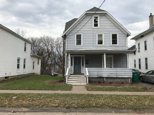 """A rental property at 104 Monroe Ave. in Brockport is home to an unrecognized """"fraternity"""" called """"The Delts."""" Group members are being investigated in connection with hazing allegations."""