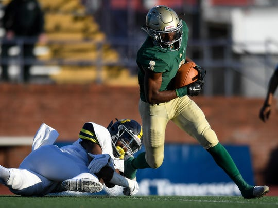 Notre Dame's Cameron Wynn had over 2,000 all-purpose yards a year ago.