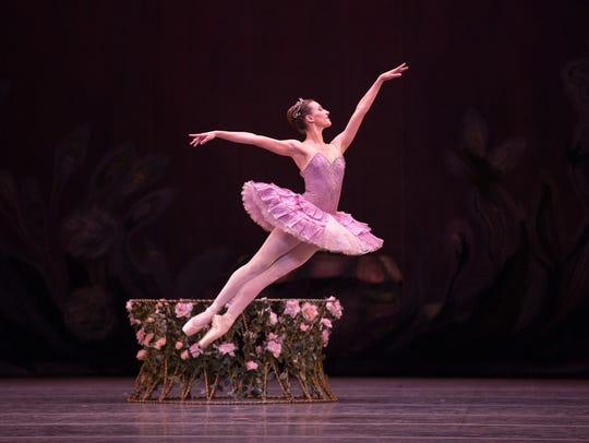 Devon Teuscher in the American Ballet Theatre production
