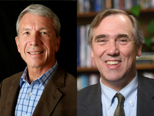 Left: Rep. Kurt Schrader, Right: Sen. Jeff Merkley