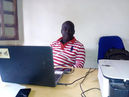 Remy Djamouss is president of the Center for the Promotion and Defense of the Rights of Children in Bangui, Central African Republic, a group that takes testimony from children abused by peacekeepers.