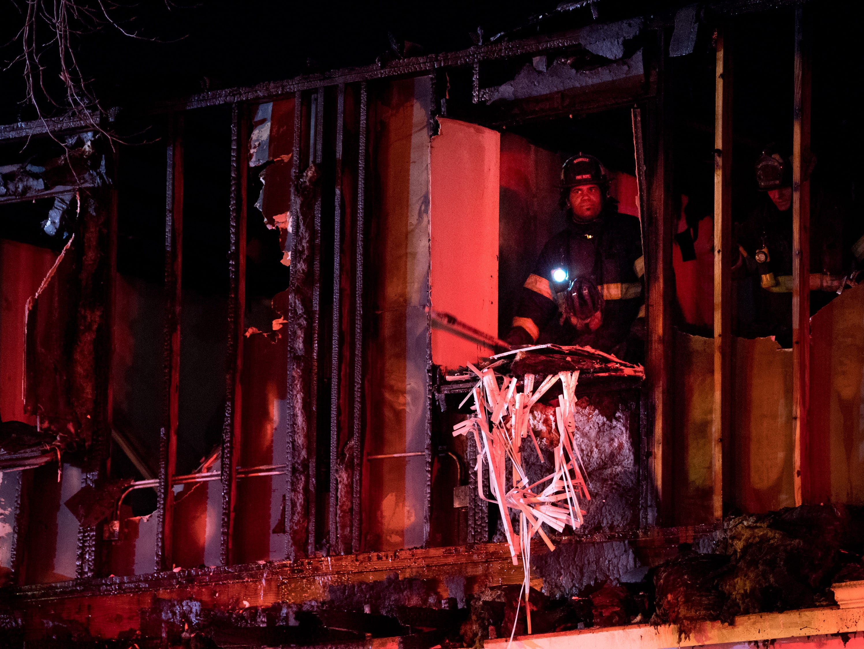 electrical wiring to blame for massive bellevue fire that displaced dozens of families