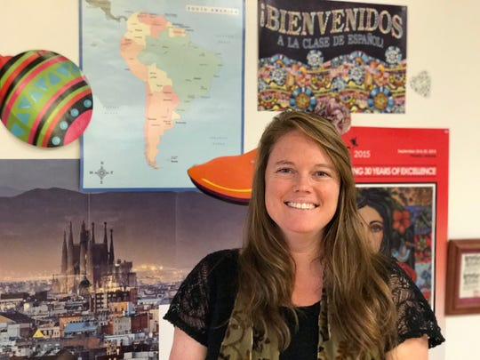 Metro Spanish teacher Ivy Worsham knows that because of her students' arts education, she can count on them to be actively engaged in the subject she teaches.