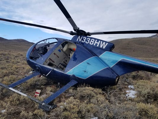 AP ELK CRASHES HELICOPTER A USA UT