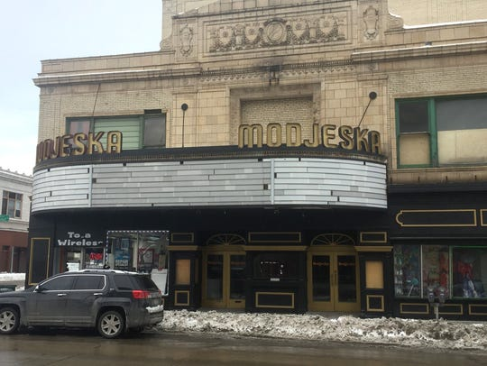 The long-vacant Modjeska Theatre, 1134 W. Historic Mitchell St., is seeking redevelopment proposals.