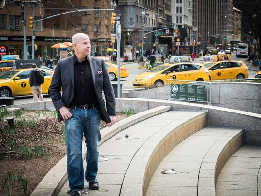 Author and businessman Matt Sweetwood in New York.