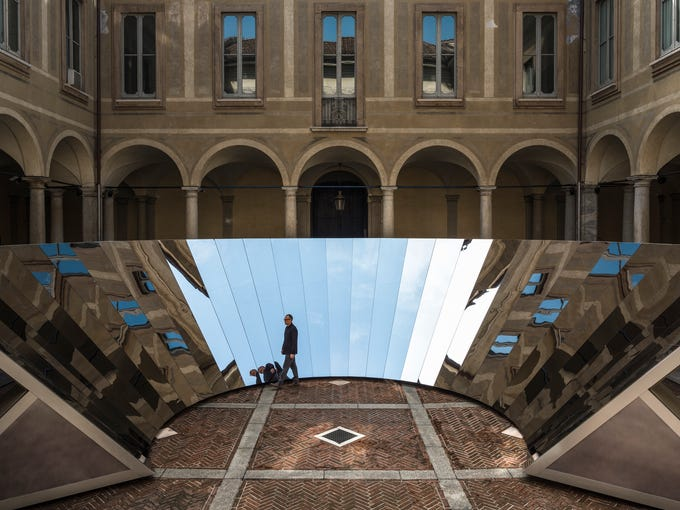 """Open Sky"" by Phillip K. Smith III at Milan Design"