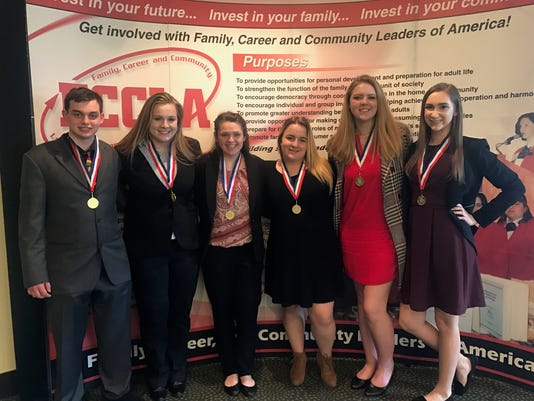 Hunterdon County Polytech teacher academy and early childhood education students earn Gold at State Competition