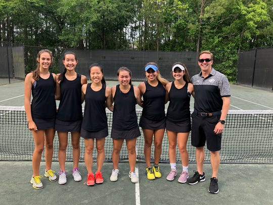 Chiles' girls tennis team advanced to the state tournament