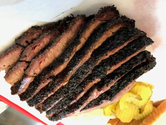 Brisket at Desert Oak BBQ in East El Paso