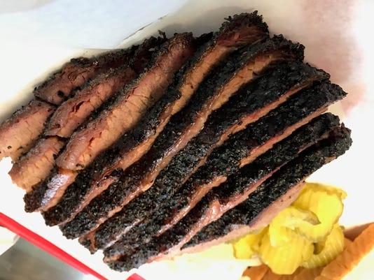 Brisket at Desert Oak BBQ in East El Paso