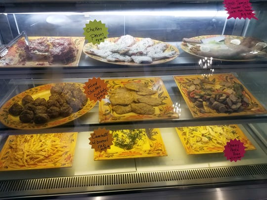 Grab-and-go prepared foods and Italian specialties are available at Frankie's Italian Deli in East Naples.