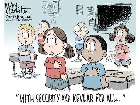 Andy Marlette, Pensacola (Fla.) News Journal. Originally published in January 2013.