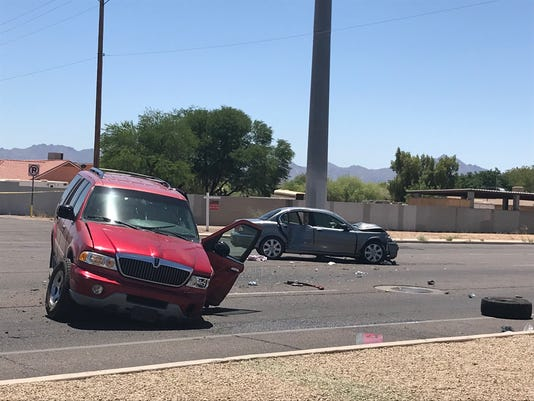 Crash on 29th Avenue and Baseline Road