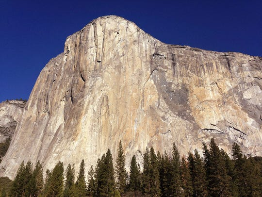 This Jan. 14, 2015, file photo, shows El Capitan in