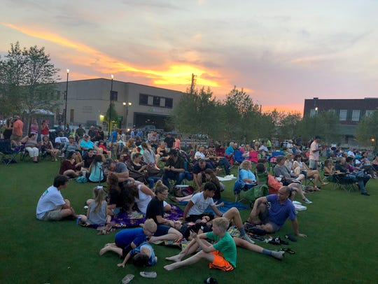 The Downtown @ Sundown Concert Series and Street Fair at