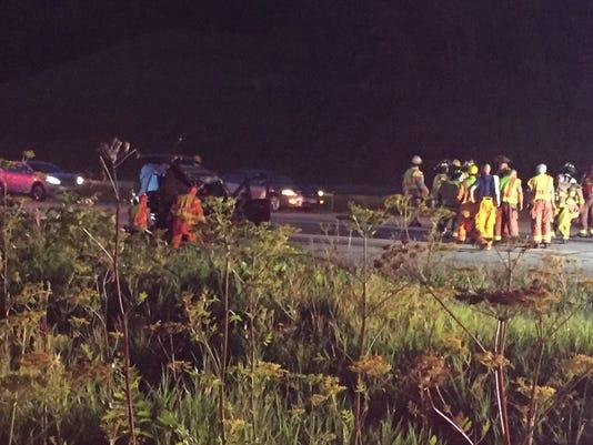 Fatal crash on I-41