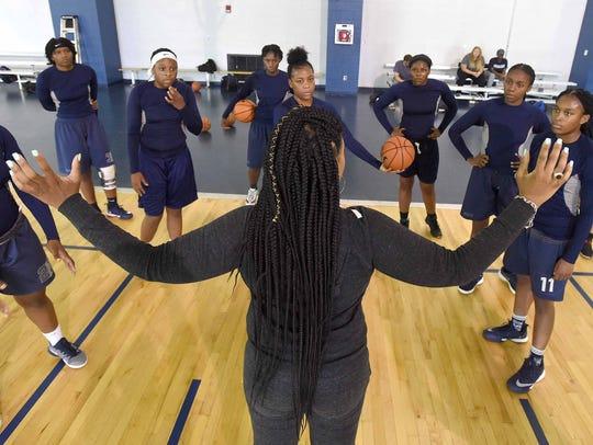 First-year JSU women's basketball coach Tomekia Reed