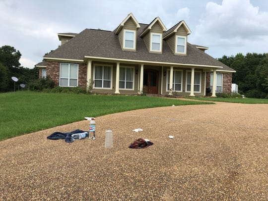 Home in Hinds County where Sharon Ellis Atkins was
