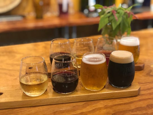 The Fenton Winery & Brewery has a large selection of house-made beer and wine.