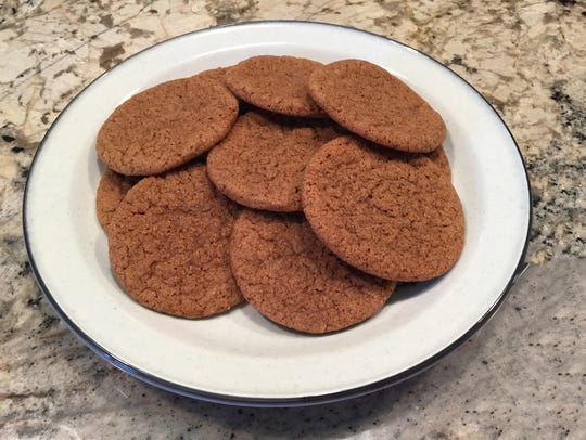 Chai Ginger Cookies are spiced with cinnamon, ginger,