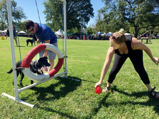 2018 Dog Day Festival on Sept. 15 on the front lawn of Centennial Park.