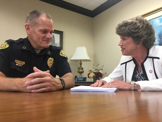 Clarksville Police Chief Al Ansley and Mayor Kim McMillan say they have serious concerns about the proposed charter.