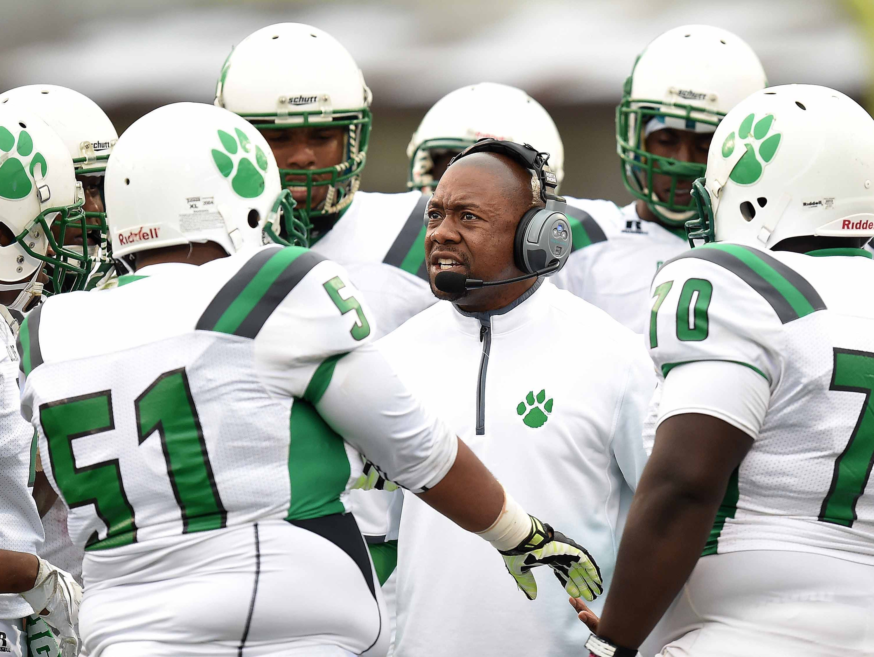 Collins head coach Ryan Earnest will try to lead his team to a second-straight MHSAA 3A State Championship against a familiar Charleston team at 11 a.m. Saturday in Oxford.