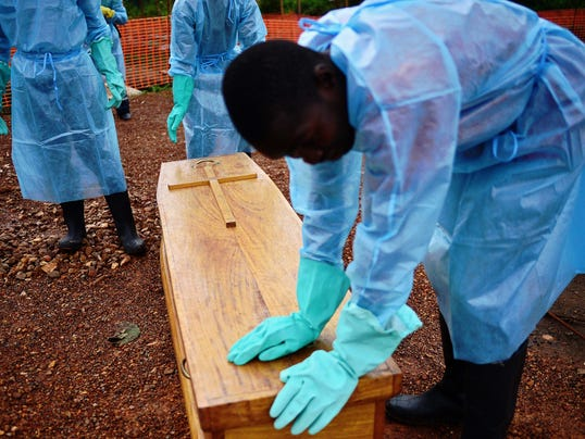 Ebola doctor