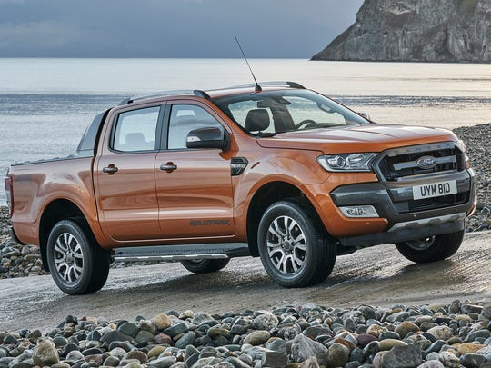 Ford doesn't sell the Ranger pickup i the U.S. yet, but it will. This Ford Ranger made its European debut at the Frankfurt Motor Show in 2015.