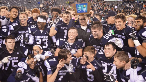 Rutherford took home its first state sectional title