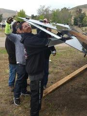 Celebrating the launch of a solar training program