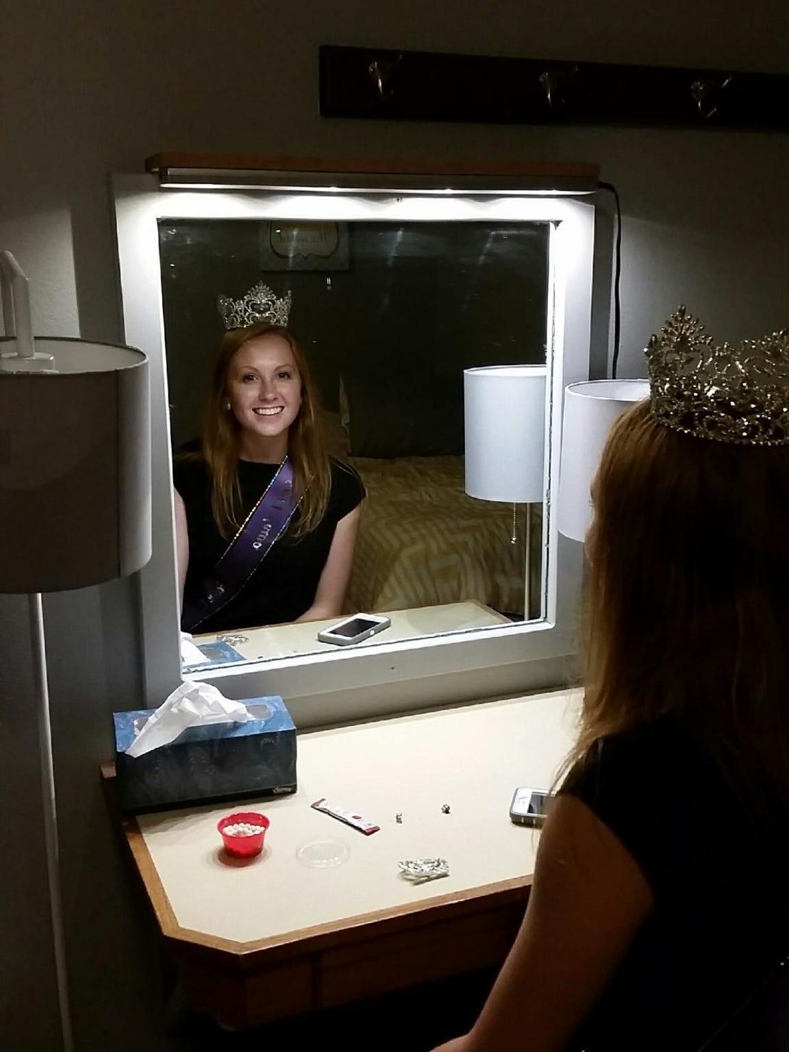 """Elizabeth """"Izzy"""" Glover, the reigning Iowa State Fair"""