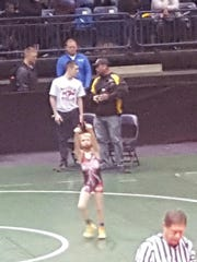Cowin Becker of the Northmor Knightlites was a champ and MVP at the Ohioway state wrestling tournament.
