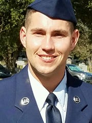 Active duty Air Force service man John Lindsey has