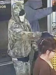 The Leon County Sheriff's Office is searching for two men who held up the Blountstown Highway Dollar General at gunpoint Wednesday night.