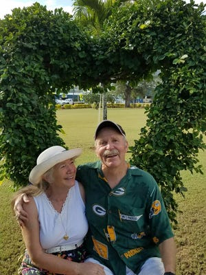 Sandra and Wayne Roberts celebrate their 49th wedding anniversary in Hawaii three months after Wayne was seriously injured in a suspected hit-and-run.